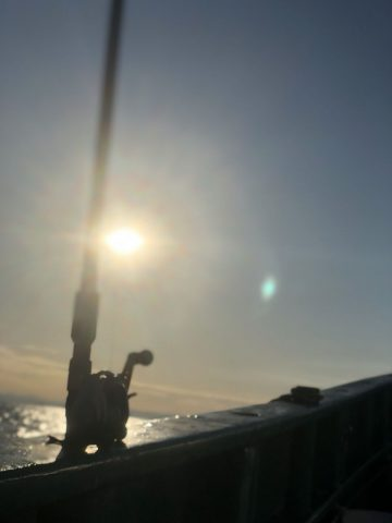 ランクルに乗って釣りへGO!!冬のスミイカ編♪