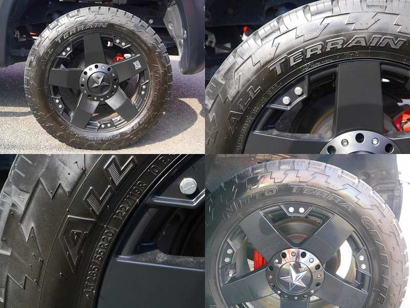 KMC XD778 ロックスター 20インチAW NITTO TERRA GRAPPLER AT