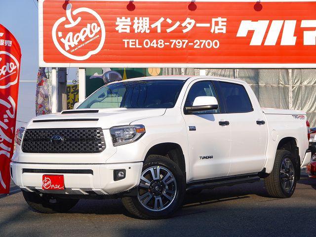 18y タンドラ クルーマックス4WD SR5 TRDスポーツPKG遂に岩槻上陸!!!