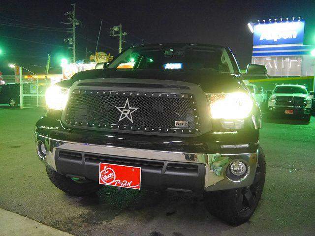 13y タンドラ クルーマックス4WD 6インチUP ブッシュワーカーOF KMC XD775 Rockstar RBP