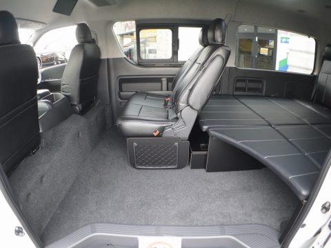flexdream:New FD-BOXベッドキット乗り降りしやすいスライドドア開口部