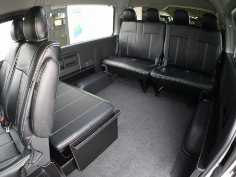 flexdream:New FD-BOXベッドキット後ろ向き乗車時