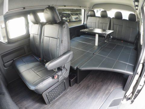 お手頃なプライスで車中泊が可能なエントリーモデル、FD-BOX0!