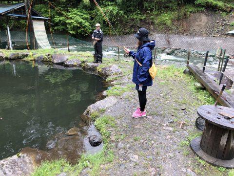 かおりん@奈良子釣りセンター