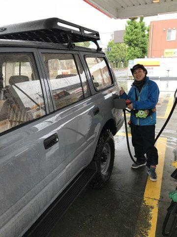 ガソリン入れてレッツゴー