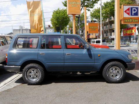 ランクル80  VX-LTD アルルブルー