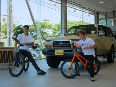 トライアルライダー 元トライアル バイクトライアル BMX 自転車 西窪友海 日本チャンピオン (2)