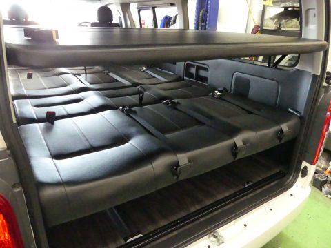 FD-BOX3のハイエースワゴンGLにノニデルの2段ベッドを取り付けました!!