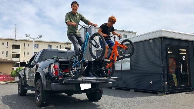 バイクトライアル全日本チャンピオンがアップル岩槻に遊びにきてくれました~\(◎o◎)/!