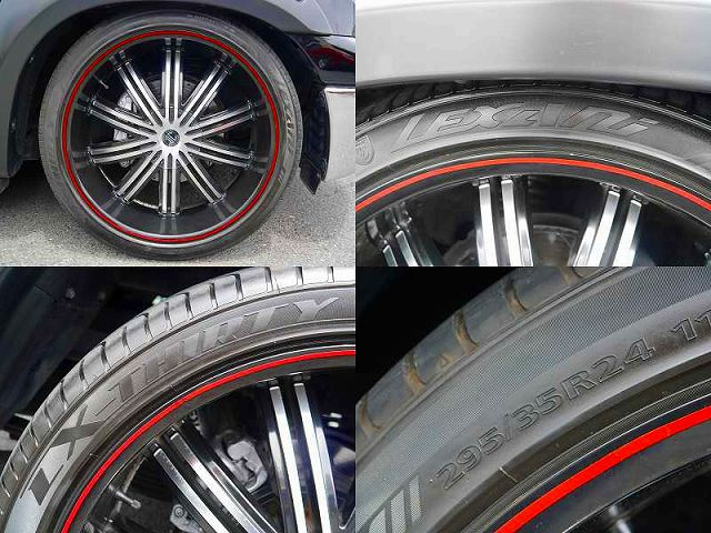 ⅡCRAVE 24インチAW LEXANI LX-THIRTY 295/35R24