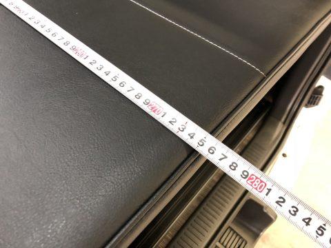 FD-BOX7:ベッド全長(フルフラットモード)