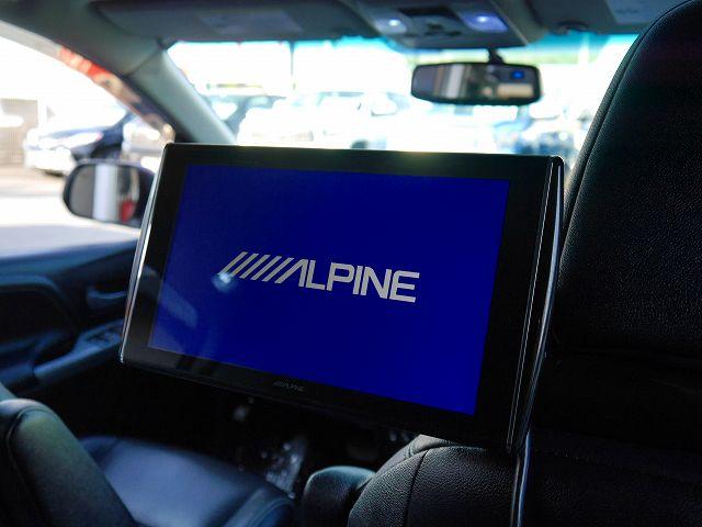 ALPINE10.1インチ ヘッドレストモニター