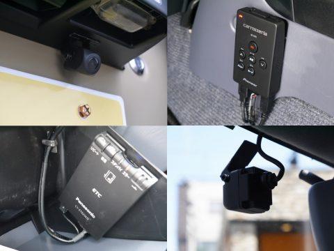 ドラレコにETC、バックカメラと盛りだくさんなパッケージング