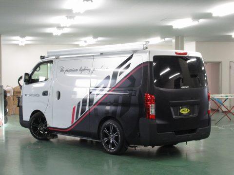ハイエース200系 IPFコーポレートデモカー
