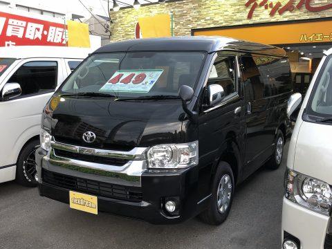 新車ハイエースワゴン 4WD FD-BOX2T
