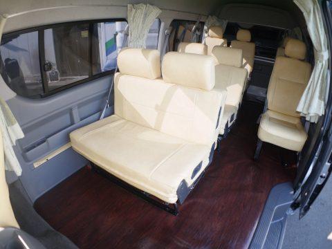 H18グランドキャビン:FASPシート搭載のシート配置