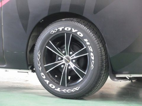 MKW:MK65 16インチアルミホイール-TOYO215タイヤ