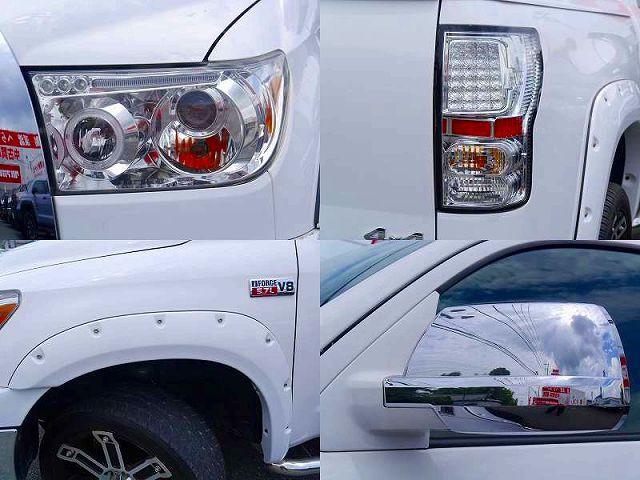 カスタムHIDプロジェクターヘッドライト LEDクリアテール 同色BWOF メッキドアミラーカバー
