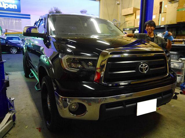 2012yタンドラ クルーマックス 4WD 18セコイア LEDヘッドライト
