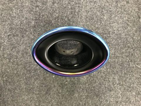ハイエース200系フレックスドリームオリジナルマフラーカッターオーバル型