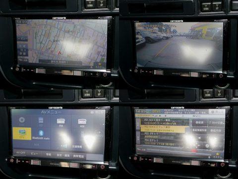 ランクル80 パイオニアメモリーナビとバックカメラも装備