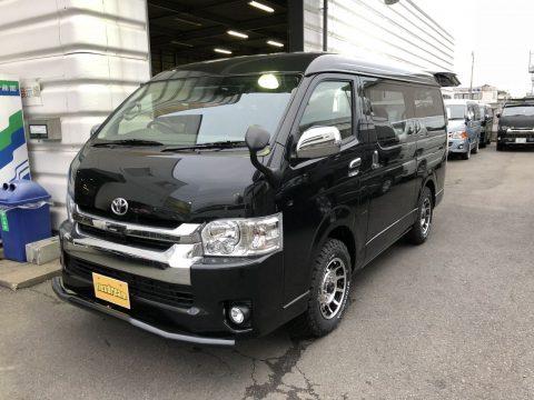 新車ハイエースW FD-BOX0【カスタム後】