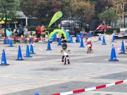 アクティブキッズフェスタ2018:ランニングバイクでのレース