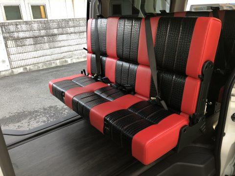ワンオフFD-BOX5:2列目i-seat REVO