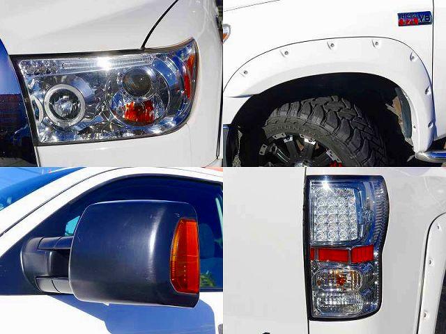 カスタムHIDプロジェクターヘッドライト 同色ブッシュワーカーOF トーイングミラー LEDクリアテール