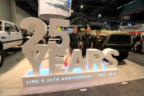 LINE-X 25周年 SEMA2018