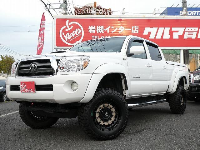希少!!☆新並☆2007年式 タコマ 4WD ダブルキャブ ロングベッド TRDスポーツ 入庫です!!