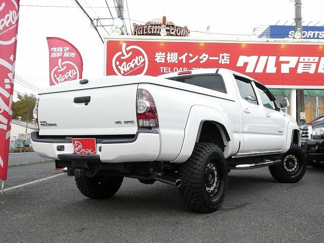 タコマ ロングベッド ピックアップ トラック TRDスポーツ リフトアップ 5インチ