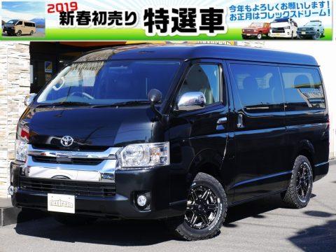 【2019初売り特選車】新車ハイエースワゴン