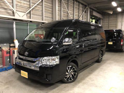 新車ハイエースワゴン グランドキャビン 202ブラック
