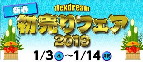 flexdream2019初売りフェア