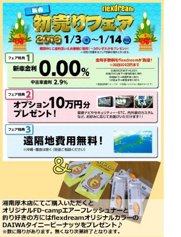 flexdream_新春初売りフェア2019