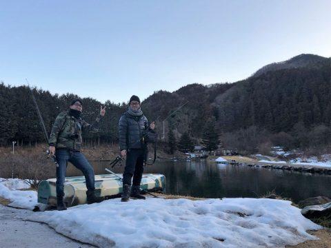 釣り組も楽しんでいます