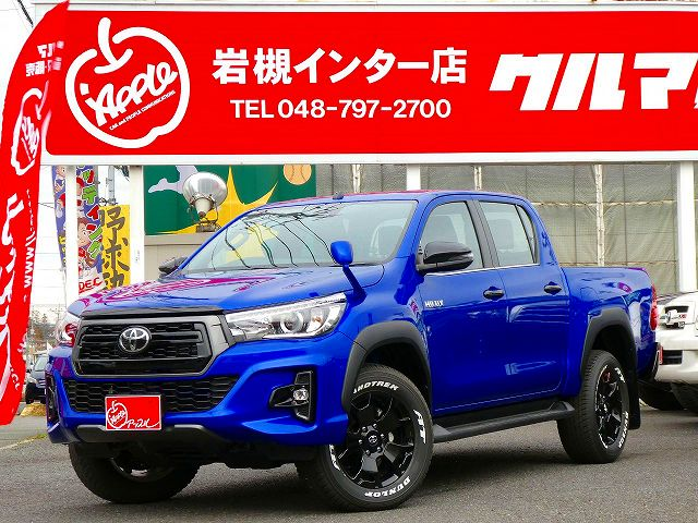 HILUX Z BlackRallyEdition ROCCOフェイス BLUE