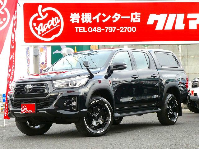 HILUX Z BlackRallyEdition ARBキャノピー LINE-X