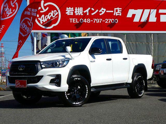 新型HILUX Z BlackRallyEdition スーパーホワイト(040)