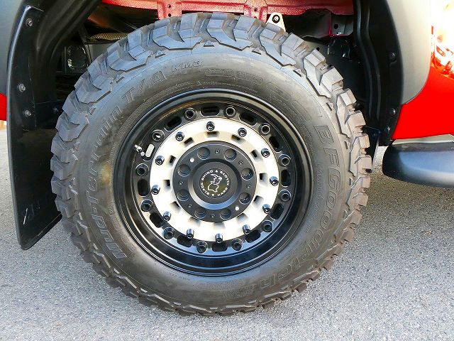 BlackRhino Arsenal 17インチAW BFGoodrich Mud-Terrain T/A KO3 265/70R17