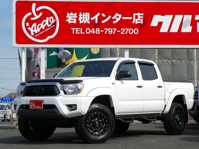 【新車並行】☆低走行☆ 2012年式 タコマ 4WD ダブルキャブ入庫しましたー
