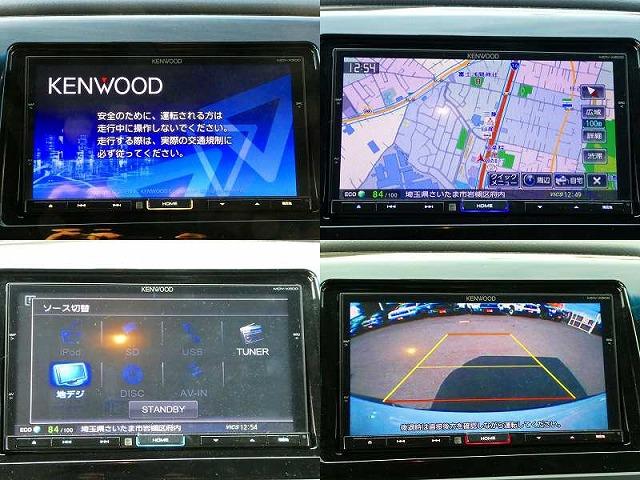 タコマ KENWOODナビ MVD-X500 ステアリングリモコン・バックカメラ連動