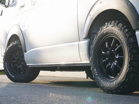 ヴァローネ:MC-9 × BFGoodrich:AT KO2
