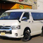新車ハイエースW GL 4WD