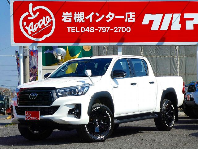 HILUX Z BlackRallyEdition White