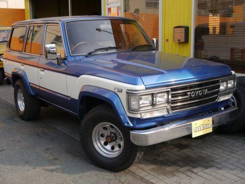 ランクル60  VX FJ62G  ライトブルー×ホワイト  ランクル調布店