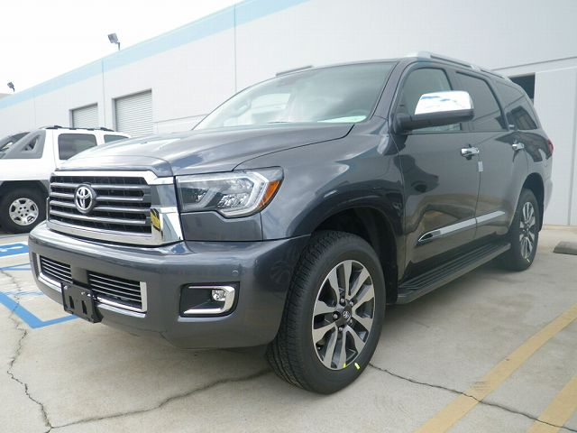 2019y SEQUOIA 4WD LIMITED Magnetic Gray Metallic