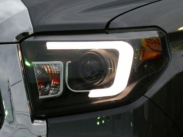 ファイバーLEDインナーブラックプロジェクターヘッドライト