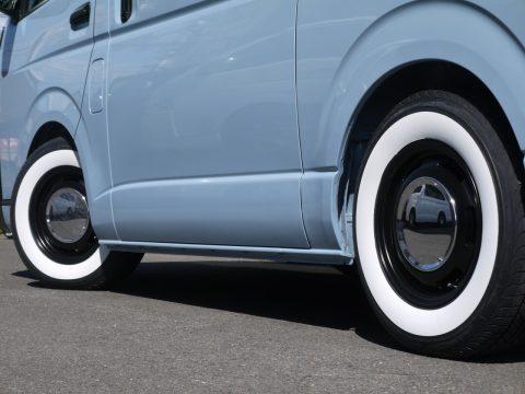 ラグテック ネオムーンⅡ × ホワイトリボンタイヤ